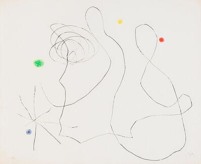 Joan Miró, 'Flux de l'Aimant XVI', 1964