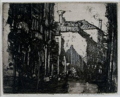 Donald Shaw MacLaughlan, 'The Dark Canal, Venice', 1908