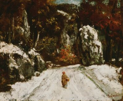 Gustave Courbet, 'Winter in the Jura', ca. 1875