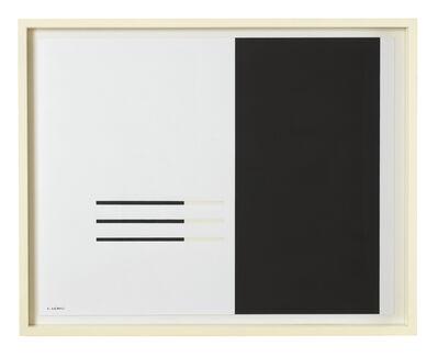 Carlos Cairoli, 'Mutation linéaire', 1963