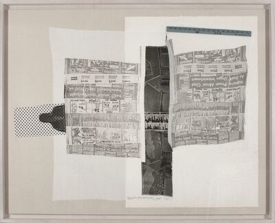 Robert Rauschenberg, 'Sheep (from CROPS)', 1974