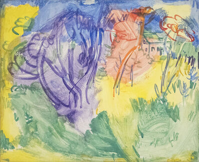 Hans Hofmann, 'Purple Tree', 1936