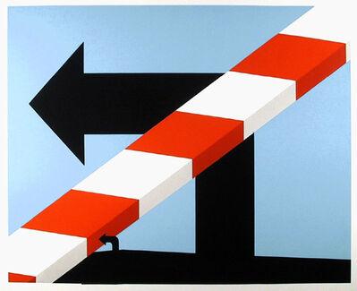 Allan D'Arcangelo, 'US Highway #1', 1978