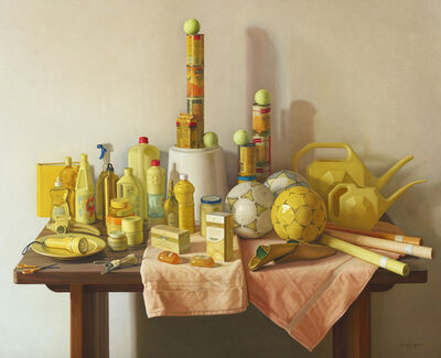 Claudio Bravo, 'Marjana amarillo / Yellow Marjana', 2008