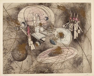 Roberto Matta, 'Voir au coeur du monde ', 1965