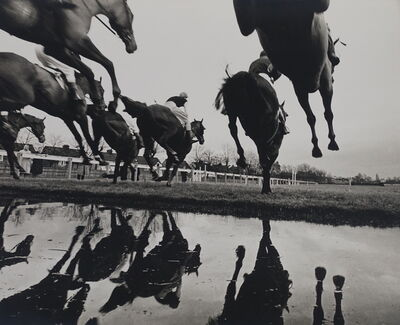 Gerry Cranham, 'Water Jump, Sandown Park, Esher, c. 1970s'