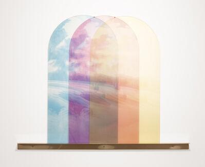 Luca Arboccò, 'Three Channels (Trompe l'Oeil)', 2017