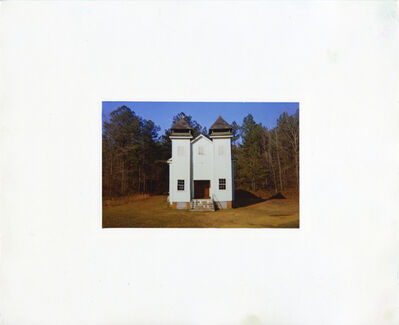 William Christenberry, 'Church, Sprott, Alabama, 1971', 1981