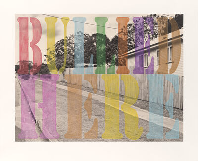 Tracey Moffatt, 'Suburban Landscape No. 3. 'Bullied Here'', 2013