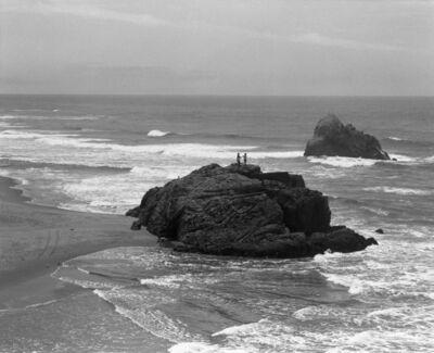 Christine Huhn, 'Couple atop Seal Rock, California ', 2020