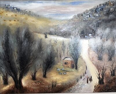 Reuven Rubin, 'Safed in Galilee', 1954