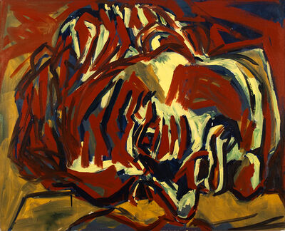 Luis Frangella, 'Head', 1984