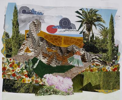 """Dinorá Justice, 'Collage 18-04 (July 2) after Ingres' """"La Grande Odalisque""""', 2018"""