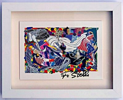 Frank Stella, 'Monstrous Pictures of Whales (Hand Signed) from the collection of UACC President Cordelia Platt', 1993