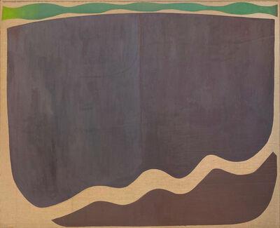 Stanley Boxer, 'Willowsnowpond', 1972