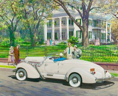 Harry Anderson, 'Stanton Hall, Natchez, Mississippi, 1935 Auburn'