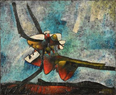 Gianni Dova, 'Insetto', 1950-1960