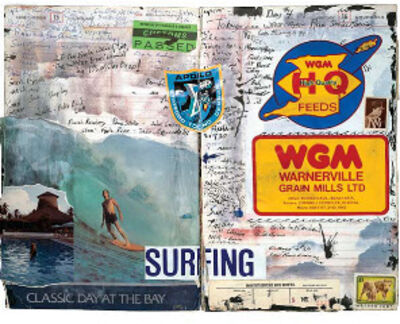 Tony Caramanico, 'The Surf Journals, November 14-15, 1984, Classic Day', 2014