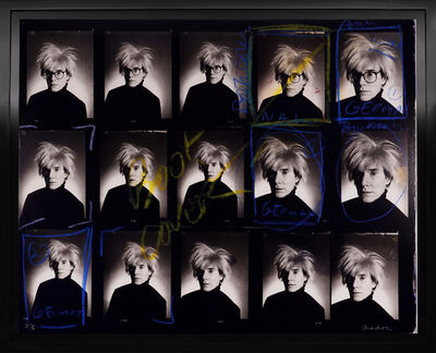 Christopher Makos, 'Andy Warhol Contact Sheet', 2020
