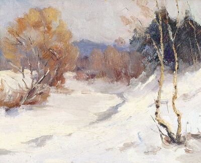 Nikolay Mikhaylovich Romadin, 'Winter', 1964