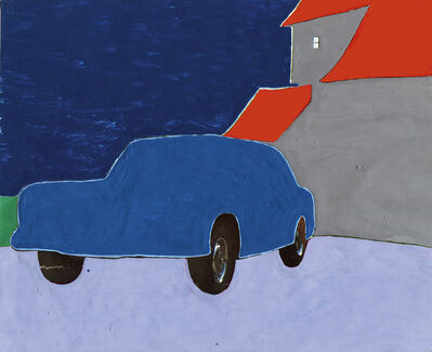 Koen Wastijn, 'Blue Car and the window', 2020
