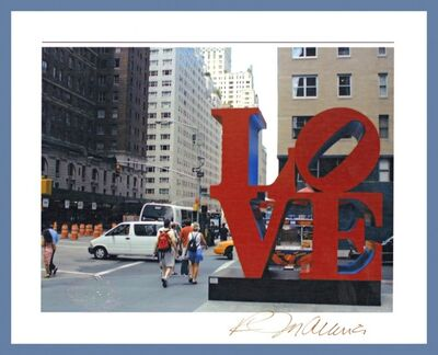 Robert Indiana, 'Love (Hand Signed)', ca. 1986