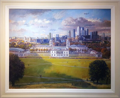 Ian Cryer, 'Greenwich From the Observatory', 2017