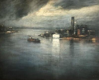 Benjamin Warner, 'Hong Kong Harbour at Dawn', 2018