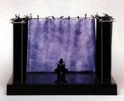 Jan Fabre, 'Ster, papegaai en uil', 1990