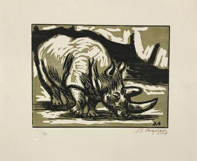 Raúl Anguiano, 'Rinoceronte', 2004