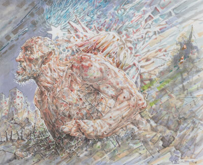 Peter Howson, 'Civilization', 2018