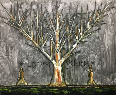 José Bedia, 'Lignum Scientia (Tree of Knowledge)', 2019