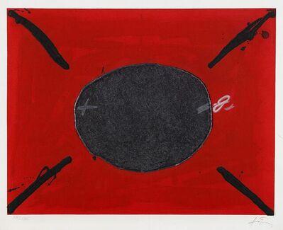 Antoni Tàpies, 'Oval (from 'U no és ningú')', 1979
