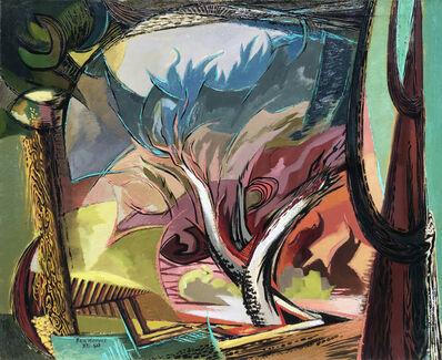 Ben Norris, 'Landscape Variation No. 1- Conflict', 1950