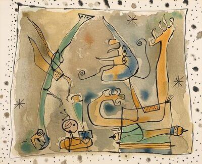 Joan Miró, 'Après l'Orage', 1957