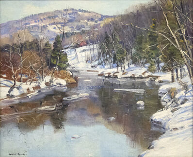 George Gardner Symons, 'White River Bank', 19th/20th Century