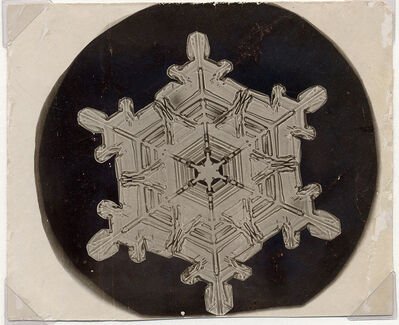 Wilson A. Bentley, 'Snowflake', 1885-1931