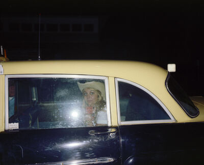 Joe Maloney, 'Girl in Cab, Asbury Park, New Jersey', 1980