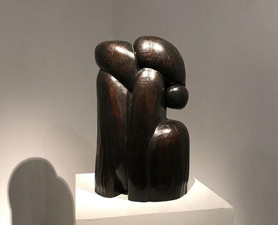 Wang Keping 王克平, 'Bronze sculpture by Wang Keping 王克平 - Couple', 1999
