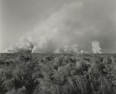 Frank Gohlke, 'Marsh Fire, Bolivar Peninsula, Texas', 1978