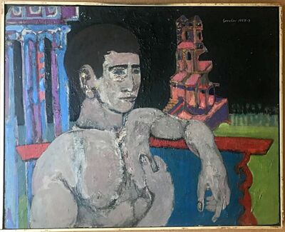 Ron Gorchov, 'Self Portrait', 1955-1959