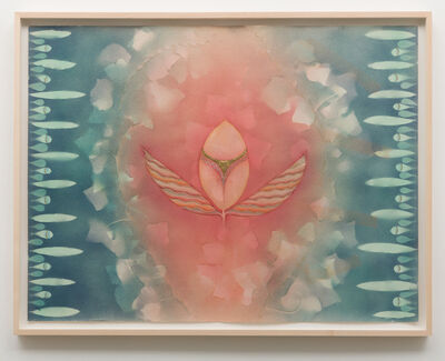 Faith Wilding, 'Leaf Goddess: Venus', 1976