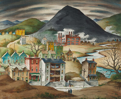 Henry Gasser, 'Industrial Town', ca. 1950s-1960s