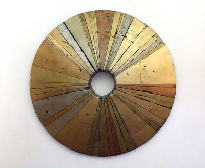 Curtis Olson, 'Wheel-Like Object 48 Gold', 2016