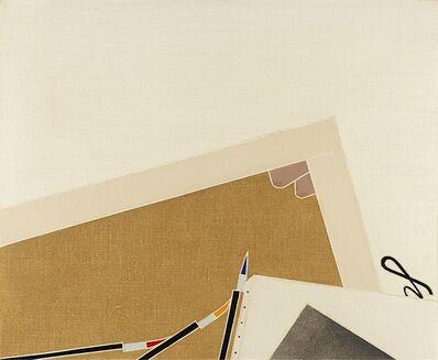 Emilio Tadini, 'La Montagne Sainte-Victoire', 1976