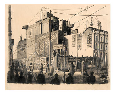 Carl Grossberg, 'Amsterdam, Muntplein', 1925