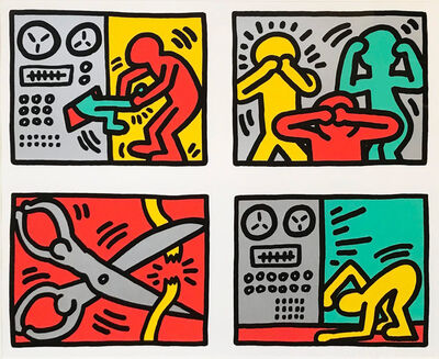 Keith Haring, 'Pop Shop Quad III', 1989