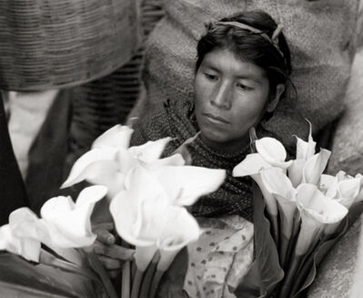 Ellen Auerbach, 'Lily Woman, Oaxaca, Mexico', 1956