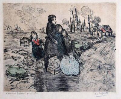 Jean François  Raffaëlli, 'Le Petit Oiseau', 1915