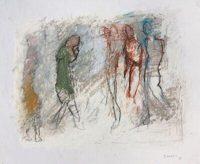 Thaddeus Radell, 'Five Figures, II', 2019
